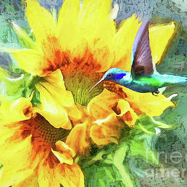 Sunflower Encounter by Tina LeCour
