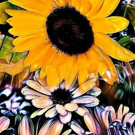 Sunflower Happiness by Debra Lynch