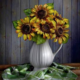 Sunflowers I by Linda Flicker