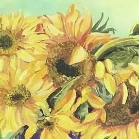 Sunflowers by Nancy Rabe