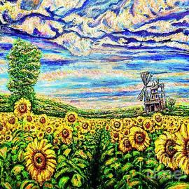 Sunflowers by Viktor Lazarev