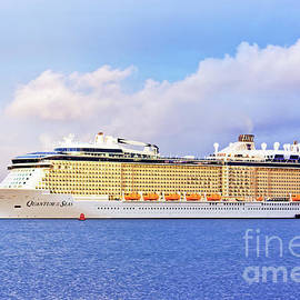 Sunlight light on the Quantum of the Seas by Terri Waters