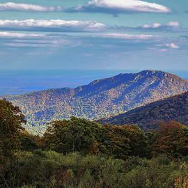 Sunlit Ridge by David Beard
