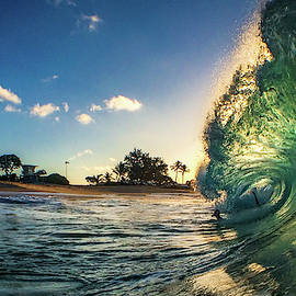 Sunlit Surf by Derek Winters