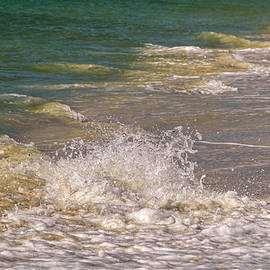 Sunlit Waves I by Kathi Isserman