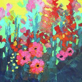 Sunny Garden by Nancy Merkle