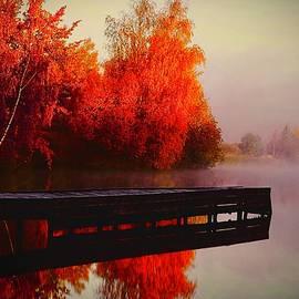 Sunrise and Morning Mist by KaFra Art