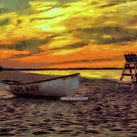 Sunrise at Cape May, New Jersey series by Geraldine Scull