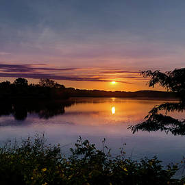 Sunrise at River Pond by Sue Ann Seel