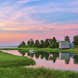 Sunrise at Salt Pond Bay by Juergen Roth