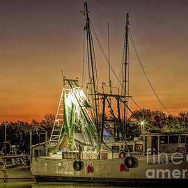 Sunrise at Shem Creek by Michelle Tinger