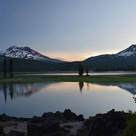 Sunrise at Sparks Lake by Dana Hardy