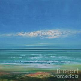 Sunrise beach by George Peebles