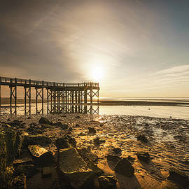 Sunrise By The Pier by Lechmoore Simms