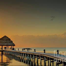 Sunrise Early Risers by David Zanzinger