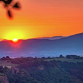 Sunrise from Civita