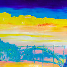 Sunrise in Porto by Natalia Stahl