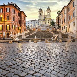 Sunrise in Rome, Italy by Stefano Politi Markovina