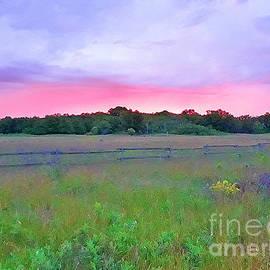 Sunrise in Sheyenne National Grasslands North Dakota by Tracy Ruckman