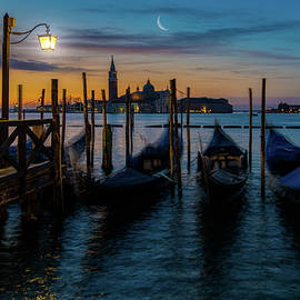 Sunrise On The Lagoon In Venice by Chris Lord