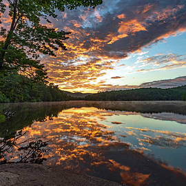 Sunrise Over Price Lake - Blue Ridge Parkway by Eric Albright