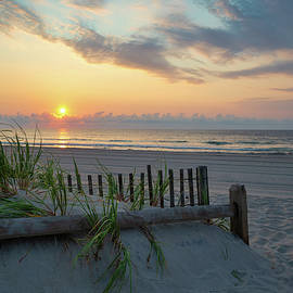 Sunrise over the Atlantic Ocean by Matthew DeGrushe