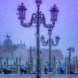 Sunrise over Venice Italy by Rita Di Lalla