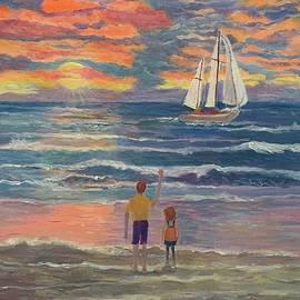 Sunrise sail by Anne Sands