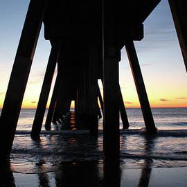 Sunrise Under The Pier by Cynthia Guinn
