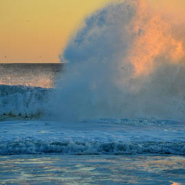 Sunrise - When Waves Collide  by Dianne Cowen