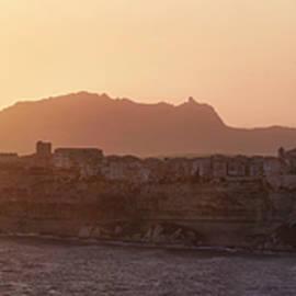 sunset at Bonifacio by Davide Gandolfi