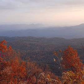 Sunset at Elk Mountain Overlook by Dianne Sherrill