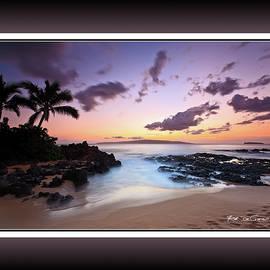 Sunset at Makena Cove, Maui, Hawaii by Rob DeCamp
