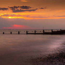 Sunset at Selsey by Chris Boulton