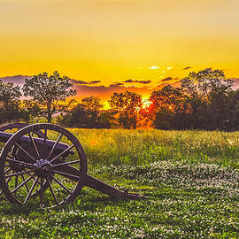 Sunset at the Battlefield by Jessica Guthrie