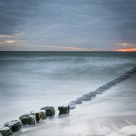 Sunset at the Sea by Tobias Luxberg
