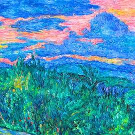 Sunset Blue Ridge Overlook by Kendall Kessler