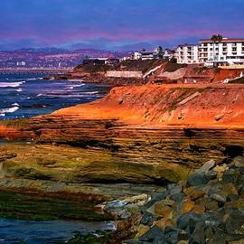 Sunset Cliffs California by Lynn Marie Sharp
