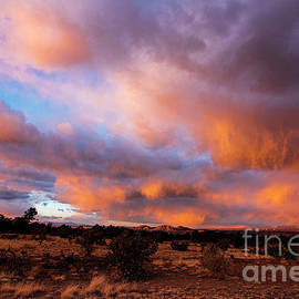 Sunset Cloudy December Skies 1 by Steven Natanson