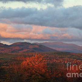 Sunset Colors over Greenville, Maine by Sandra Huston