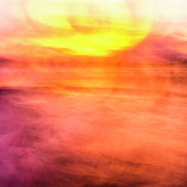 Sunset Colour Explosion by Lucy Brown