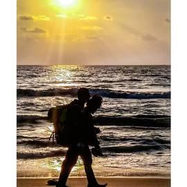 Sunset Couple by Ashish Aswin Kumar V