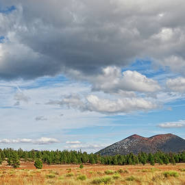 Sunset Crater from Bonito Park by Jeff Goulden