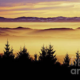 Sunset, The Vosges by Imi Koetz