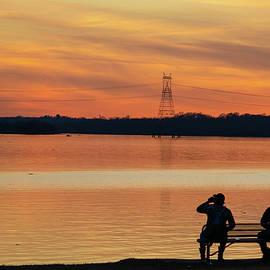 Sunset Gaze by Michael Poe