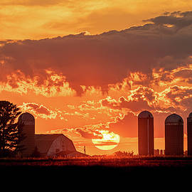 Sunset in Dairyland by Amfmgirl Photography
