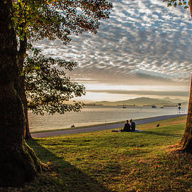 Sunset in English Bay, Vancouver, Canada by Venetia Featherstone-Witty