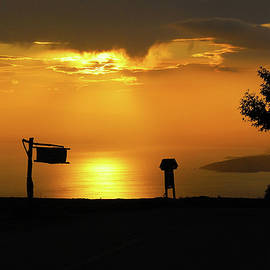 Sunset in Pelion  -  4258 by Panos Pliassas