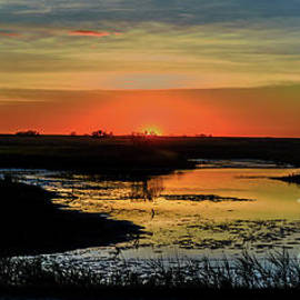 Sunset in Saskatchewan. Panorama by Viktor Birkus