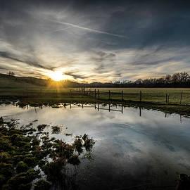 Sunset Mirror by Jim Love